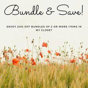 20% off all bundles!!!!